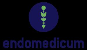 Das Bild zeigt das Logo des Endomedicum. Ein Kooperationspartner der Praxis für Familiengesundheit in Essen und MVZ für Innere Medizin & Hormon- und Stoffwechselerkrankungen